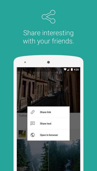 Скачать Warm feed на Андроид screen 3