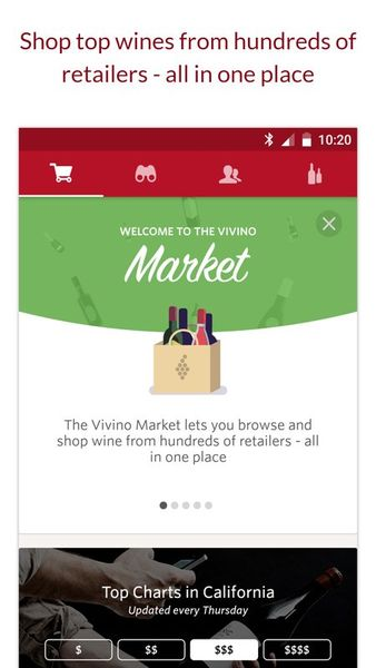 Скачать Vivino – сканер вина на Андроид screen 3