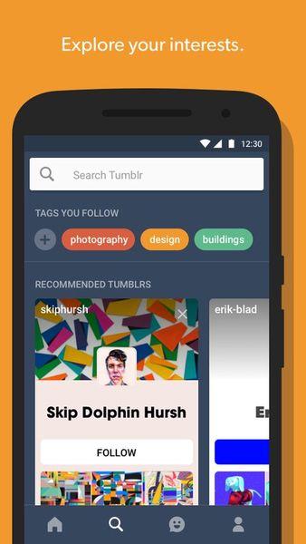 Скачать Tumblr на Андроид — Оптимизированная версия screen 4