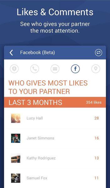 Скачать Couple Tracker: Phone Monitor на Андроид screen 4