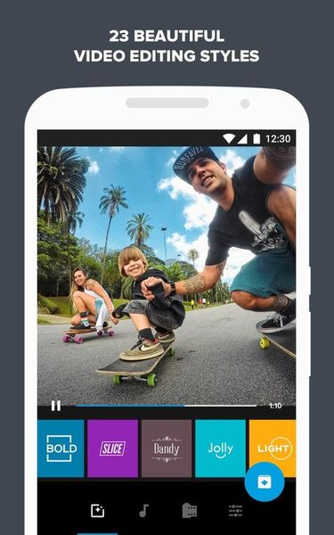 Скачать Quik: Video Editor на Андроид screen 4