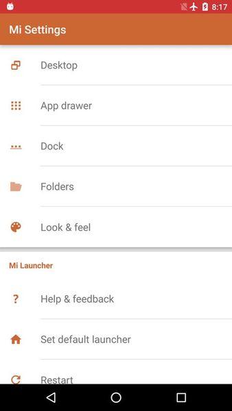Скачать Mi: Launcher на Андроид screen 4