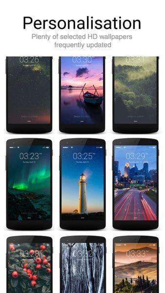 Скачать Lock Screen Iphone style на Андроид screen 4