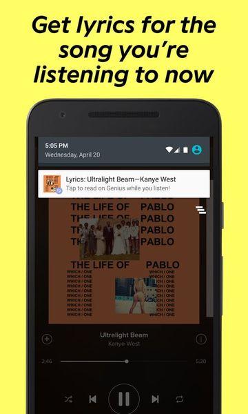 Скачать Genius: Song and Lyrics на Андроид screen 4