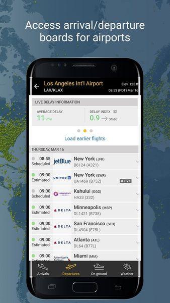 Скачать Flightradar 24 на Андроид screen 4