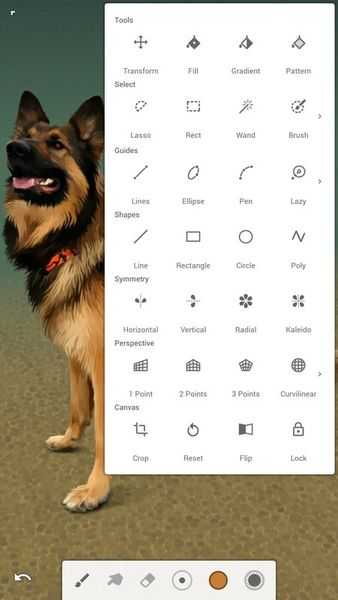 Скачать Infinite Painter на Андроид — Unlocked версия screen 4