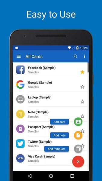 Скачать SafeInCloud Менеджер паролей на Андроид screen 4
