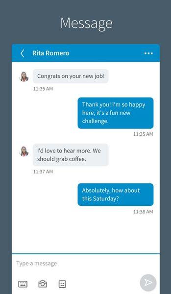 Скачать LinkedIn на Андроид screen 4