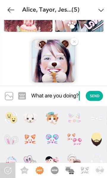 Скачать B612: Selfie from the heart на Андроид screen 4