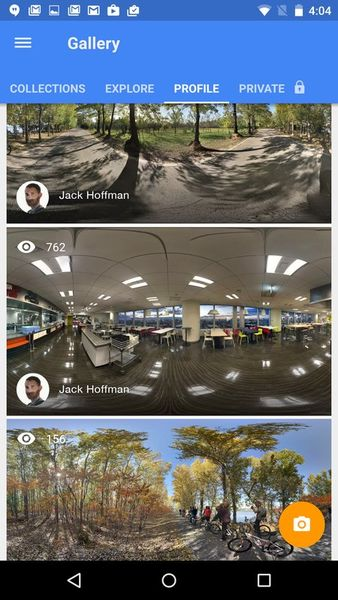 Скачать Google Просмотр улиц на Андроид screen 4