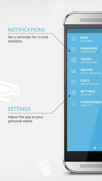 Скачать Hydro drink water на Андроид screen 4