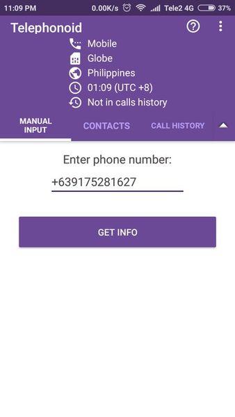 Скачать Telephonoid на Андроид — Русская версия screen 4
