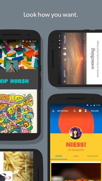 Скачать Tumblr на Андроид — Оптимизированная версия screen 5