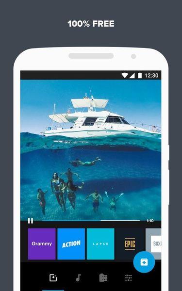 Скачать Quik: Video Editor на Андроид screen 5