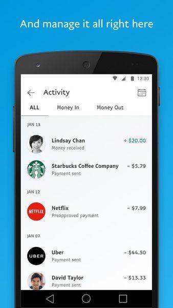 Скачать PayPal на Андроид — Оптимизированная версия screen 5