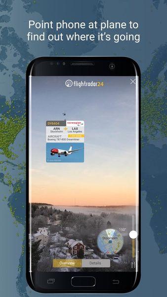 Скачать Flightradar 24 на Андроид screen 5