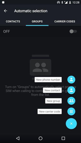 Скачать Dual SIM Selector на Андроид screen 3