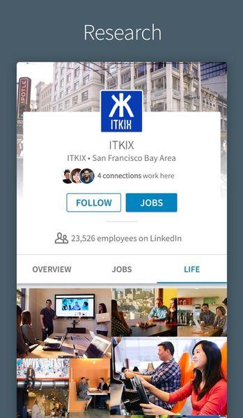 Скачать LinkedIn на Андроид screen 5