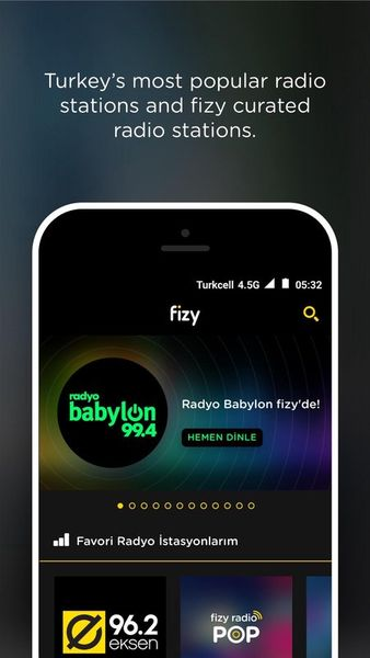 Скачать Fizy на Андроид — Русская версия screen 4