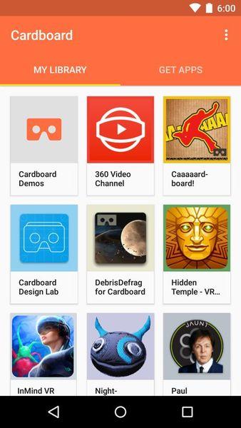 Скачать Cardboard на Андроид screen 2