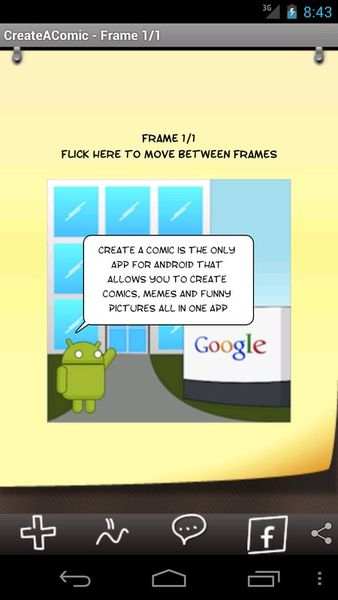 Скачать Comic & Meme на Андроид screen 1