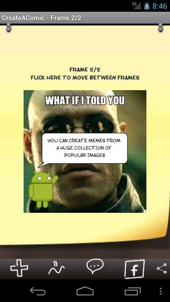 Скачать Comic & Meme на Андроид screen 2
