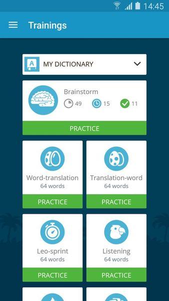 Скачать Lingualeo на Андроид — Premium версия screen 7