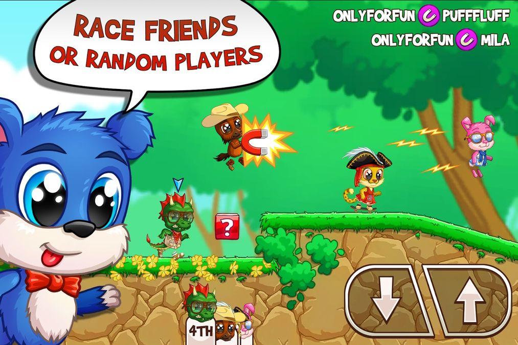 Скачать Fun Run 3: Arena — Multiplayer Running Game на Андроид screen 1