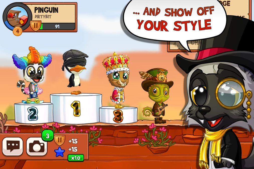 Скачать Fun Run 3: Arena — Multiplayer Running Game на Андроид screen 4