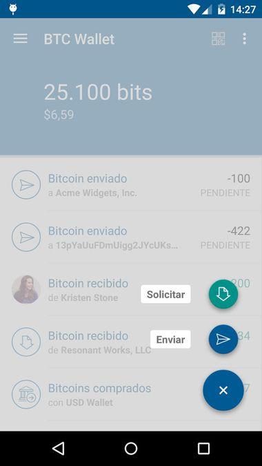 Скачать Bitcoin Wallet Coinbase на Андроид — Русская версия screen 2
