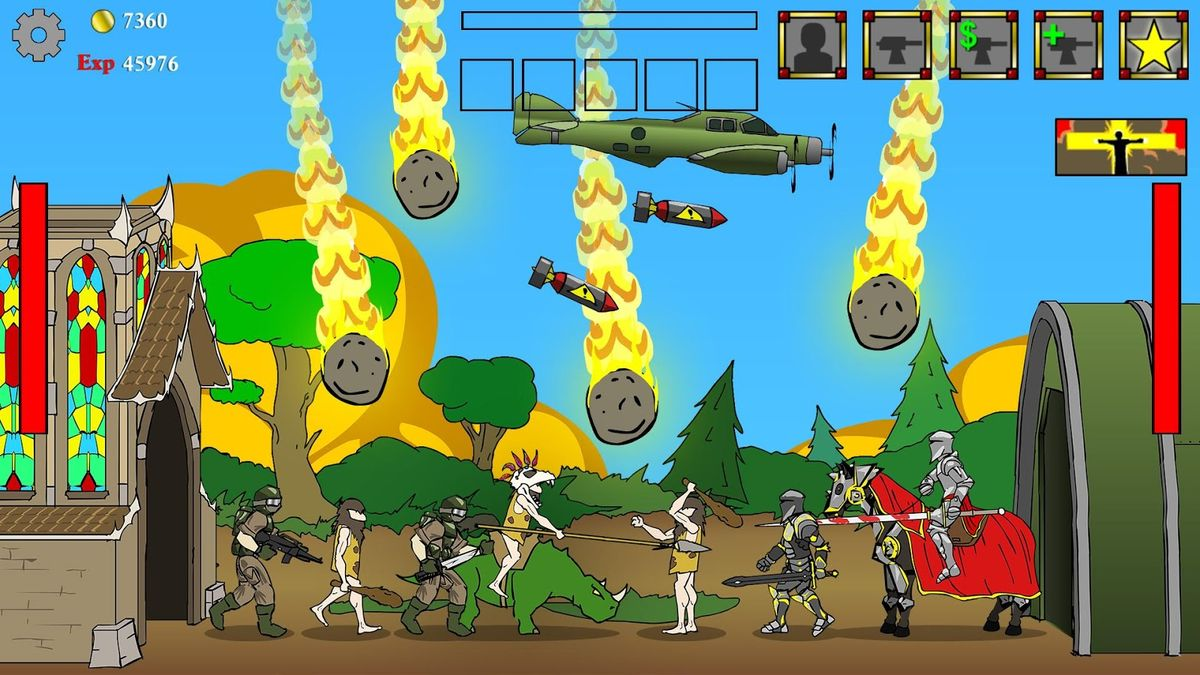 Скачать Age of War на Андроид — Последняя версия screen 3