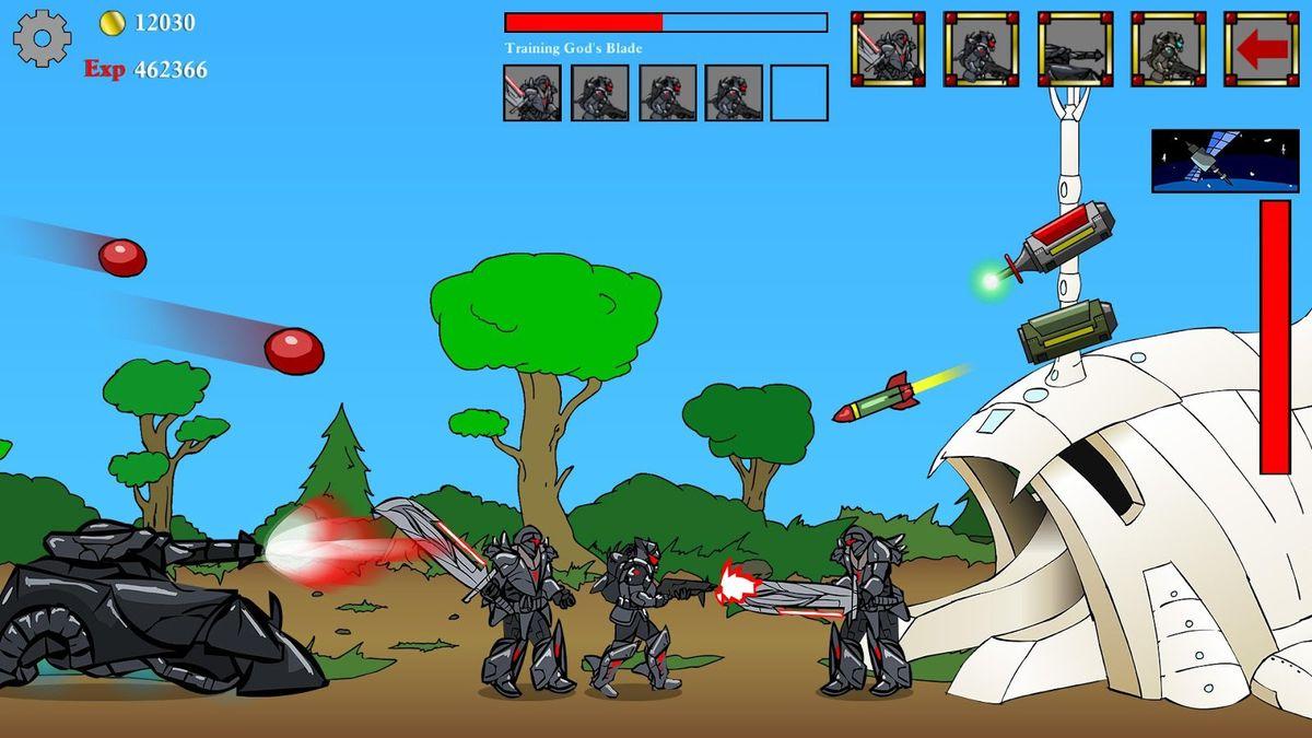 Скачать Age of War на Андроид — Последняя версия screen 2
