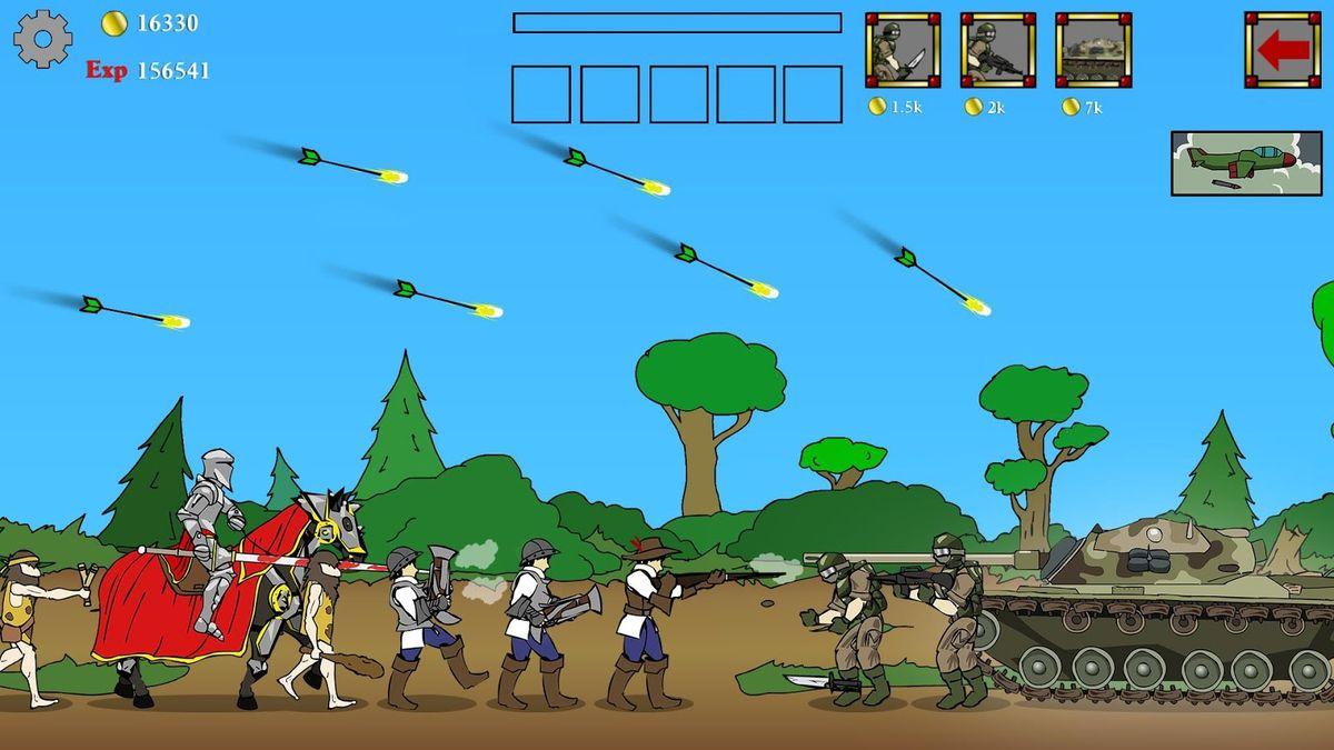 Скачать Age of War на Андроид — Последняя версия screen 1