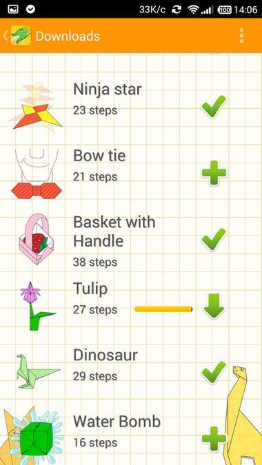 Скачать Animated Origami Instructions на Андроид — Последняя версия screen 3