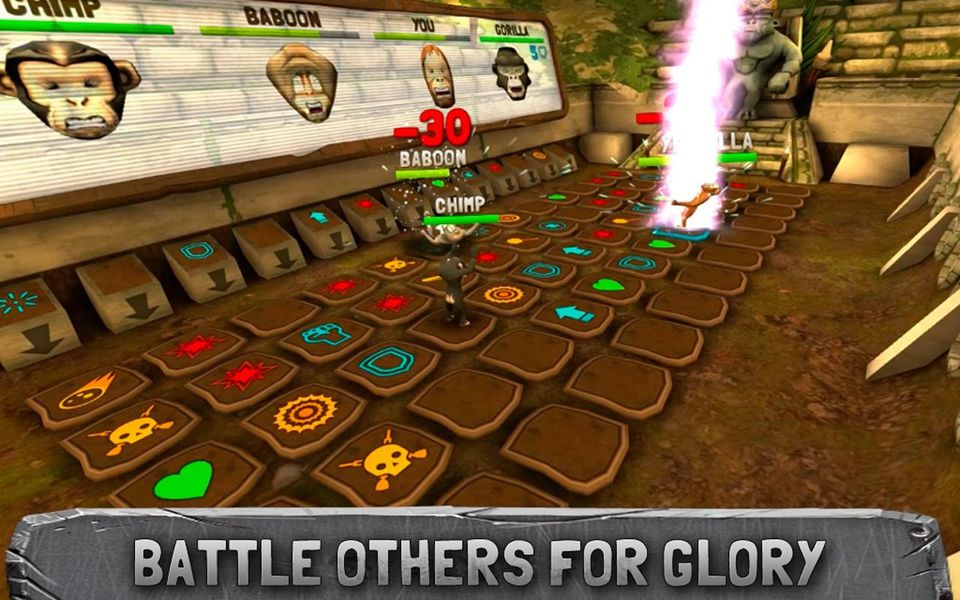 Скачать Battle Monkeys Multiplayer на Андроид — Полная версия screen 3