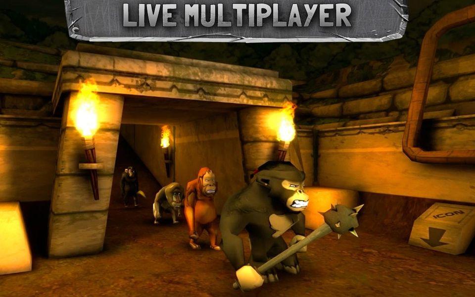 Скачать Battle Monkeys Multiplayer на Андроид — Полная версия screen 2