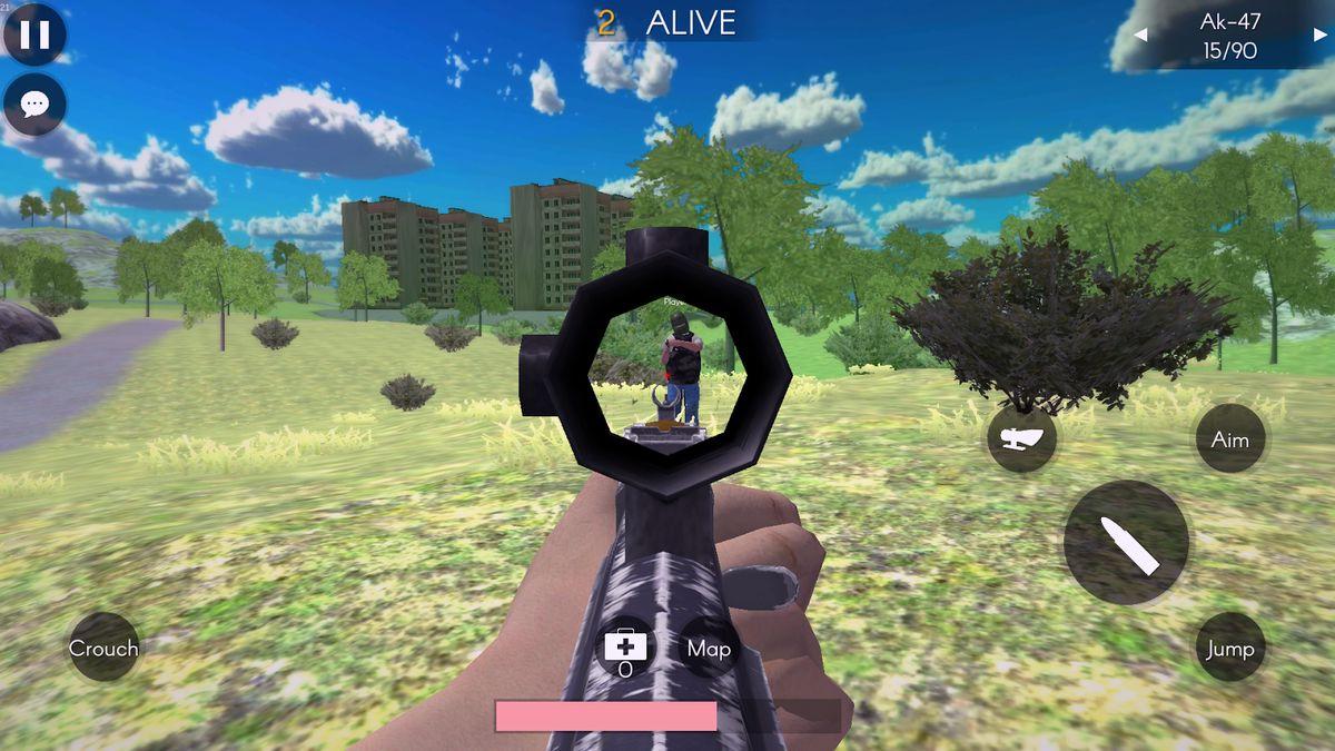 Скачать Battleground's Survivor: Battle Royale на Андроид screen 2