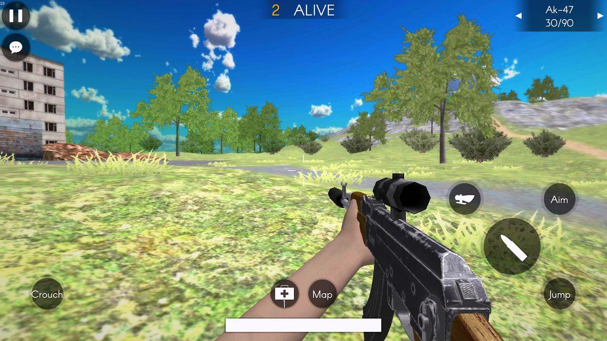 Скачать Battleground's Survivor: Battle Royale на Андроид screen 1