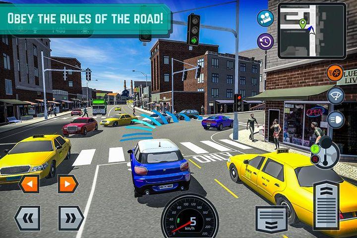 Скачать Car Driving School Simulator на Андроид screen 4