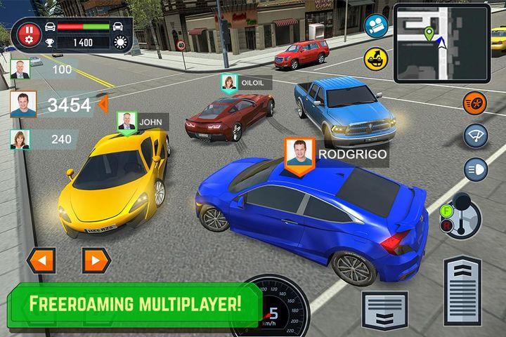 Скачать Car Driving School Simulator на Андроид screen 2