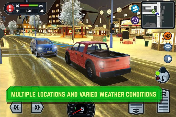 Скачать Car Driving School Simulator на Андроид screen 1