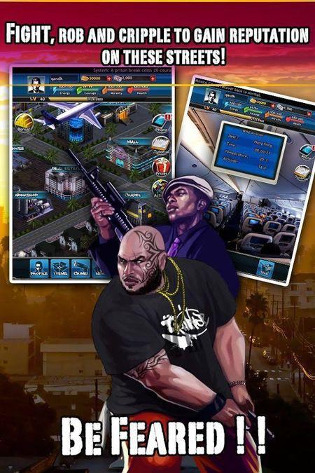 Скачать Дикий Город Mafia RPG на Андрод screen 2