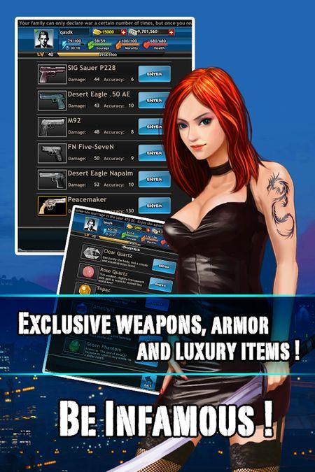Скачать Дикий Город Mafia RPG на Андрод screen 1