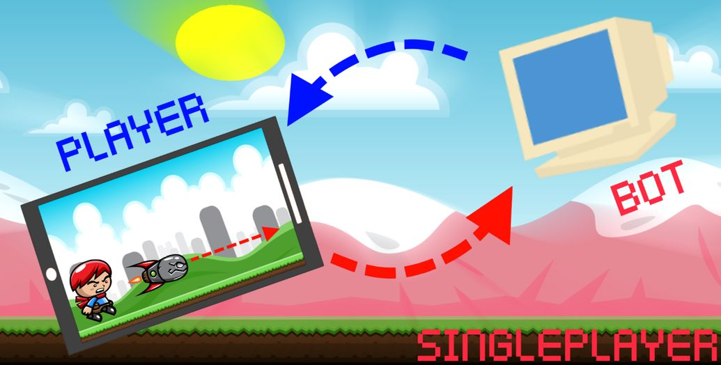 Скачать Dual Multiplayer Shooter на Андроид screen 4
