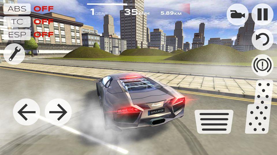 Скачать Extreme Car Driving Simulator на Андроид — Мод много денег screen 4