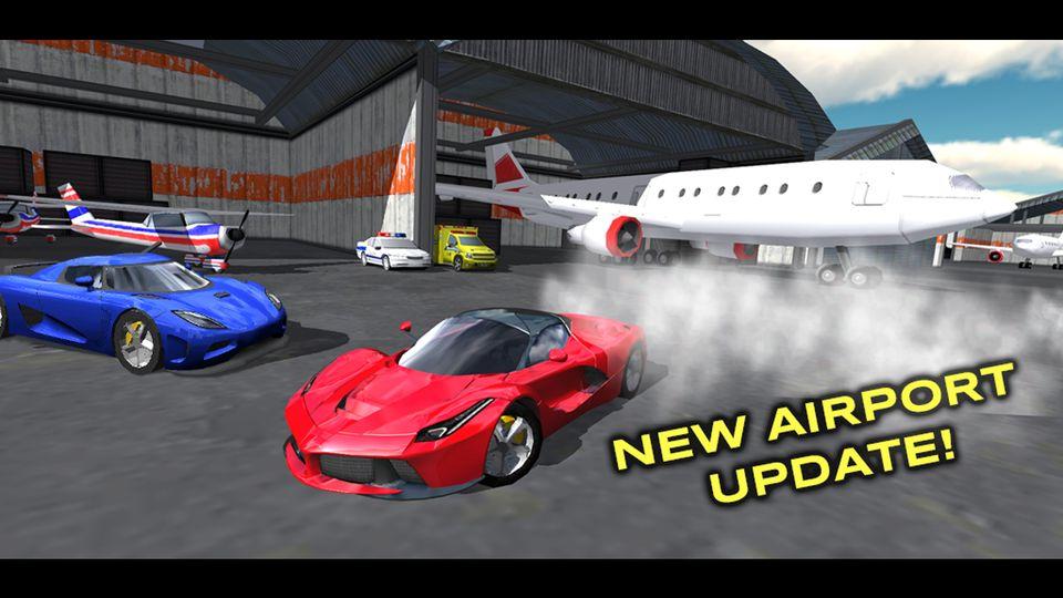 Скачать Extreme Car Driving Simulator на Андроид — Мод много денег screen 3