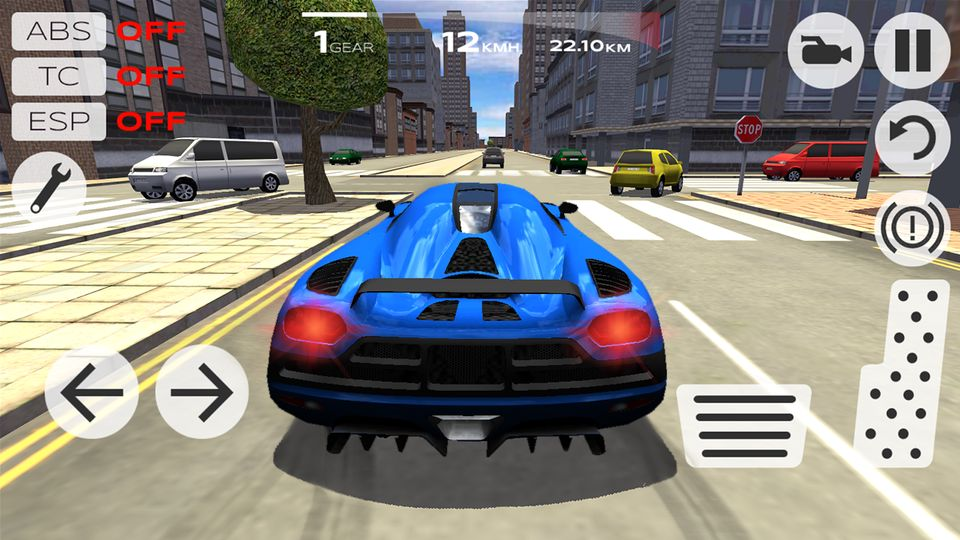 Скачать Extreme Car Driving Simulator на Андроид — Мод много денег screen 2
