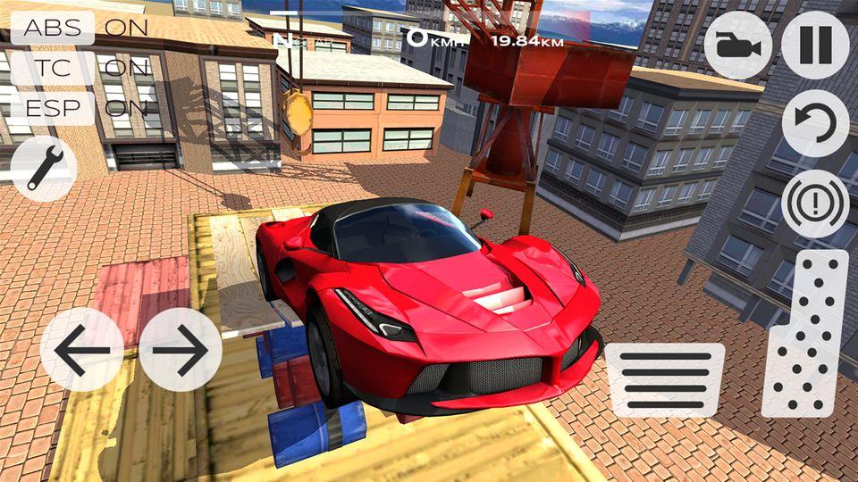 Скачать Extreme Car Driving Simulator на Андроид — Мод много денег screen 1