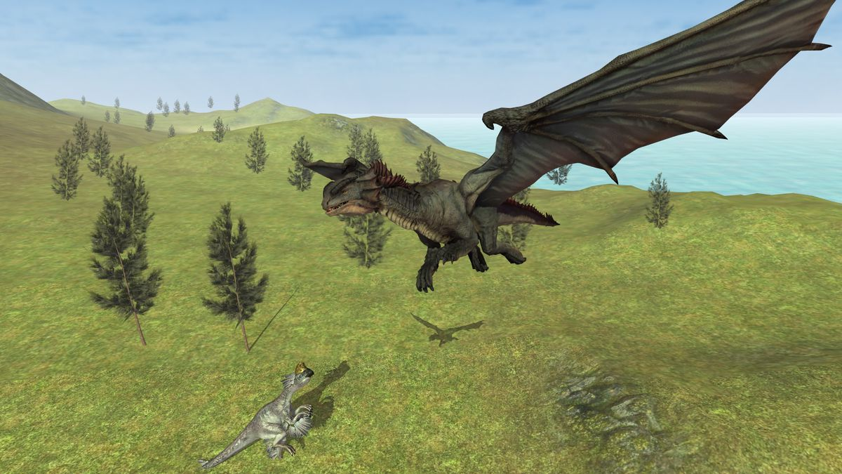 Скачать Flying Fury Dragon Simulator на Андроид screen 4
