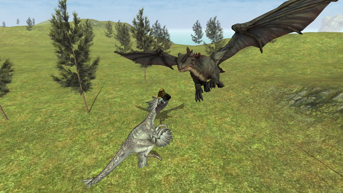 Скачать Flying Fury Dragon Simulator на Андроид screen 3